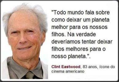 Reflexão Clint Eastwood